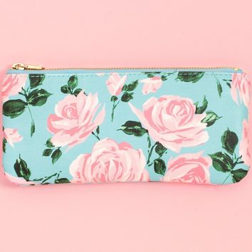 Rose Parade Get It Together Pencil Pouch by Bando