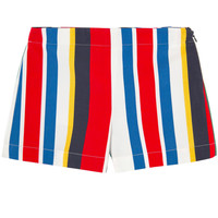 Marni Girls Striped Colorful Shorts
