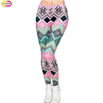Hot Sale New Arrival 3D Printed Fashion Women Leggings Space Galaxy Leggins