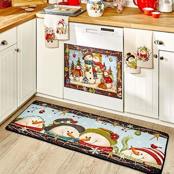 Country Snowman Kitchen Collection Magnet
