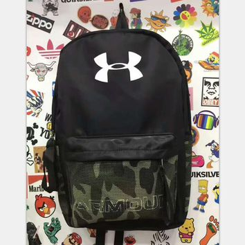 Under Armour UA storm recruit camouflage Sport Laptop Bag Shoulder School Bag Backpack H-A-XYCL