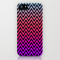 Chevron Pattern iPhone Case by Ornaart | Society6