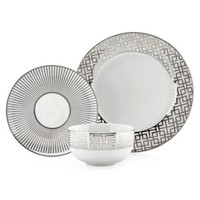 Soiree Dinnerware - Sets of 4   Luxe for Less Tableware   Luxe For Less   Z Gallerie