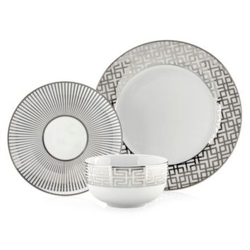 Soiree Dinnerware - Sets of 4 | Luxe for Less Tableware | Luxe For Less | Z Gallerie