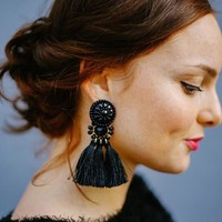 Bohemian Belle Tassel Earrings