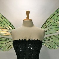 Teasel Iridescent Fairy Wings With Customized Coloring
