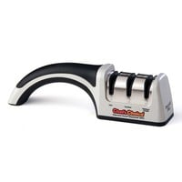 Chef'sChoice M4643 ProntoPro Diamond Hone Manual Knife Sharpener (Brushed Metal)
