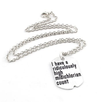 High Midichlorian Count Necklace