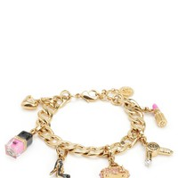 Glamour Girl Charm Bracelet by Juicy Couture