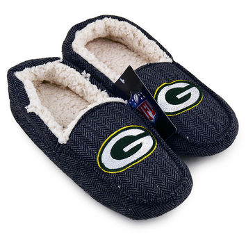 Green Bay Packers Loafer Slippers