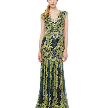 Erin Fetherston Joanna Lace Mermaid Gown