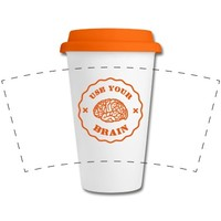 Use Your Brain - Funny Statement / slogan Bouteilles et Tasses