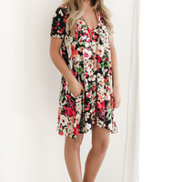 Blair Floral Dress- Ships 5-25