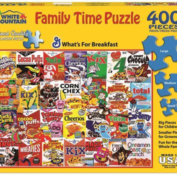What's for Breakfast - 400 Piece Family Time Jigsaw Puzzle