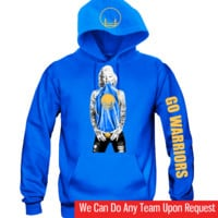 "Marilyn Monroe Golden State Warriors Hoodie ""3 Prints"" Sports Clothing"