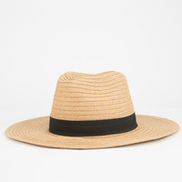 Womens Straw Panama Hat Natural One Size For Women 25477342301