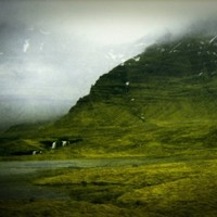 Waterfall (Photography, Film, Iceland, Home Decor)