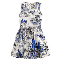 Girls' sailboat sundress - party - Girl's dresses - J.Crew