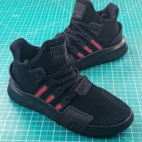Adidas Eqt Basketball Adv Black Red Shoes - Best Online Sale