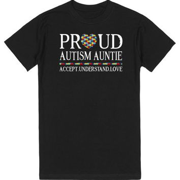 Proud Autism Auntie Autism Awareness