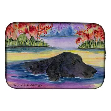 Curly Coated Retriever Dish Drying Mat SS8043DDM