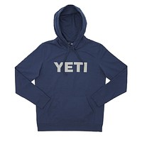 Logo Hoodie Pullover in Navy by YETI