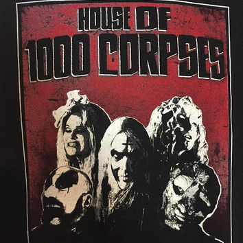 House of 1000 corpses T-shirt *FREE SHIPPING*