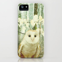 Winter Owl iPhone Case by Olivia Joy StClaire | Society6