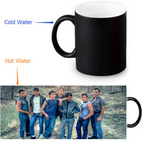 The Outsiders magic color changing coffee tea milk mug Mug funny novelty travel custom morphing mugs 12 OZ/350ml