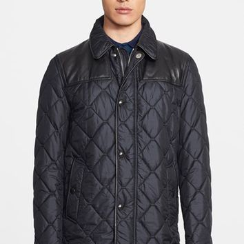 Men's Burberry London 'Kenley' Diamond Quilted Jacket