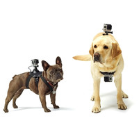 PULUZ Hound Dog Fetch Harness Adjustable Chest Strap Mount for GoPro HERO4 Session /4 /3+ /3 /2 /1