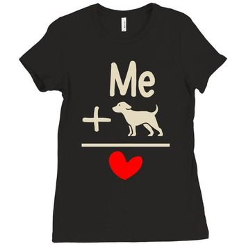 find and save ideas about i love dogs Ladies Fitted T-Shirt