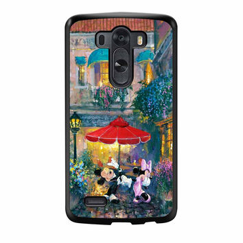 Mickey And Minnie Mouse Dancing LG G3 Case