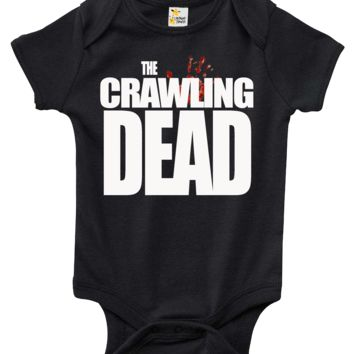 Baby Bodysuit - The Walking Dead themed The Crawling Dead