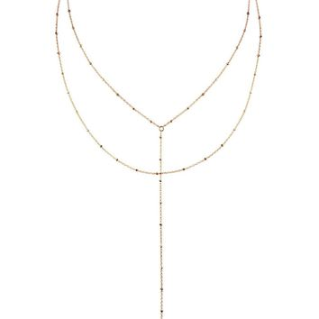 YUNIS K | Aubrey Double Layer Lariat