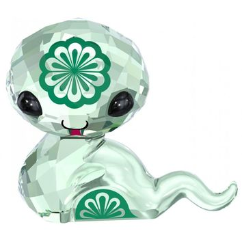 Swarovski Green Crystal ZODIAC Figurine HEBI THE SNAKE #5004618
