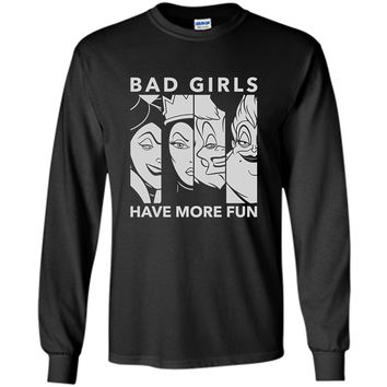 Disney Villains Bad Girls T Shirt