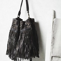 A.S.98 Womens Amelie Fringed Bucket