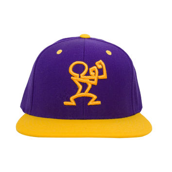 READY SNAPBACK - Purple & Yellow