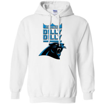 Carolina Panthers : Dilly Dilly : G200 G185 Gildan Pullover Hoodie 8 oz.