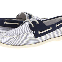 Sperry Top-Sider A/O 2-Eye Oxford Cloth Navy Oxford - Zappos.com Free Shipping BOTH Ways