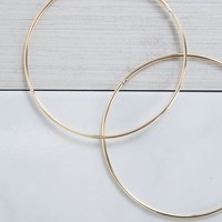 Perfectly Oversized Hoops