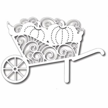 Estel METAL CUTTING DIES  pumpkin flowers lace Trolley Scrapbook PAPER CRAFT card album embossing stencils template punch