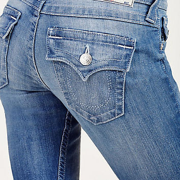 HAND PICKED BOOTCUT CRYSTAL WOMENS JEAN