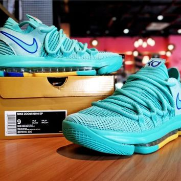 Nike KD10 Mint City Edition Basketball Shoe
