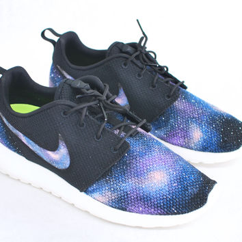Custom Nike Roshe Run - Hand Painted Galaxy Sneakers