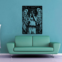 Weeping Angel - Doctor Who Wall Decal