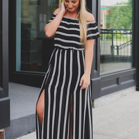High Stakes Maxi Dress