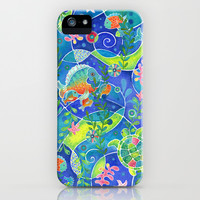 Undersea World iPhone & iPod Case by Janet Broxon