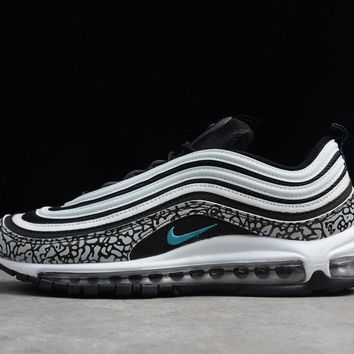 Nike Air Max 97 Atmos Elephant Black/clear Jade-white Aj8366-001 - Beauty Ticks